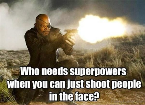 Who Needs Superpowers