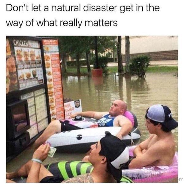Dont Let A Natural Disaster