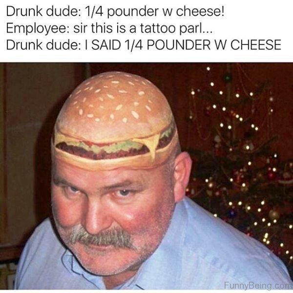 Drunk Dude Vs Employee