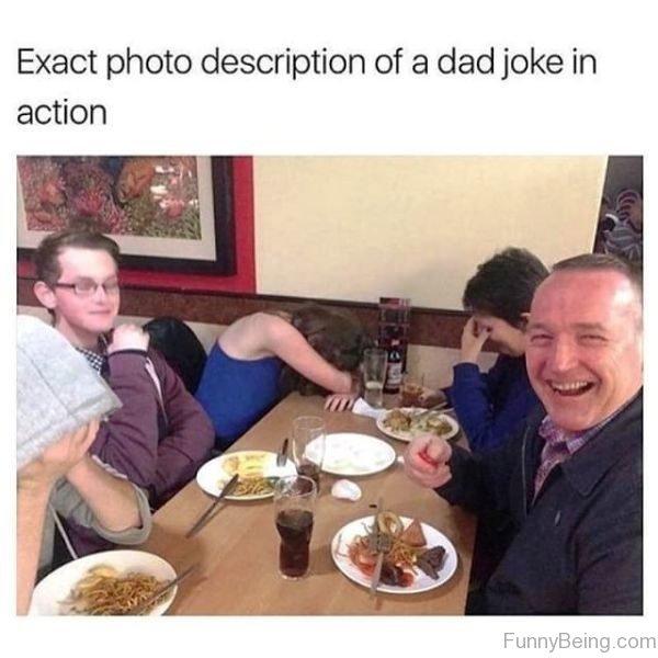 Exact Photo Description Of A Dad Joke