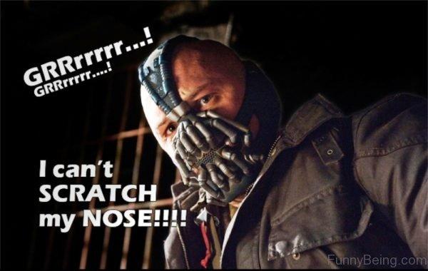 I Cant Scratch My Nose