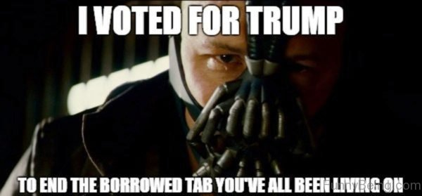 I Voted For Trump