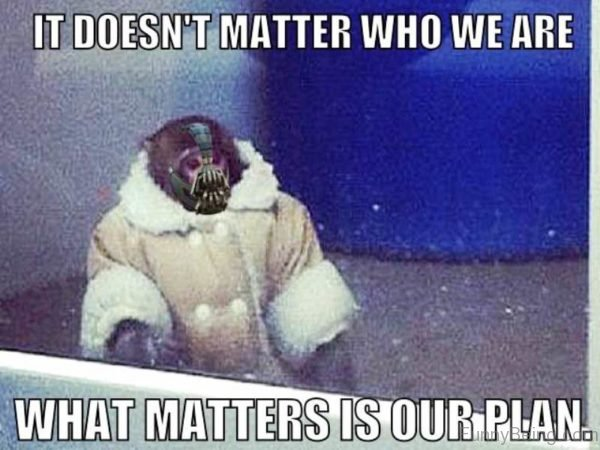 It Doesnt Matter Who We Are
