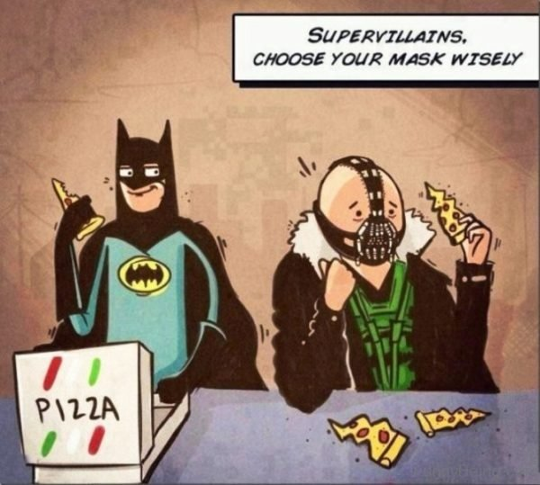 Supervillains Choose Your Mask Wisely